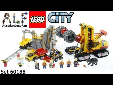 Vidéo LEGO City 60188 : Le site d'exploration minier