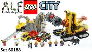 Lego City 60188 Mining Experts Site - Lego Speed Build Review