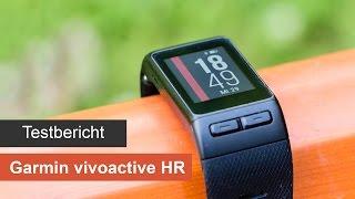 Garmin vivoactive HR im Test [Deutsch] - Sport-GPS-Smartwatch mit Herzfrequenzmessung