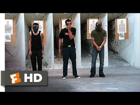 Jackass crew tests anti riot weapon