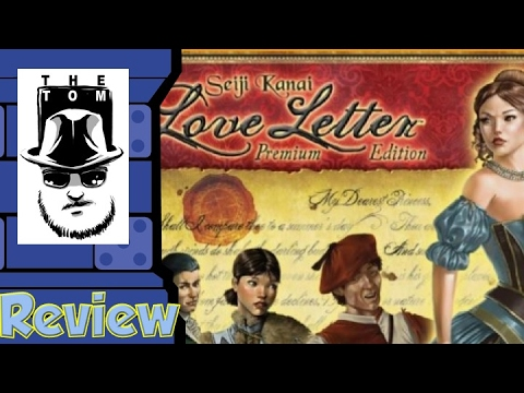 Love Letter Premium Edition Review-  with Tom Vasel