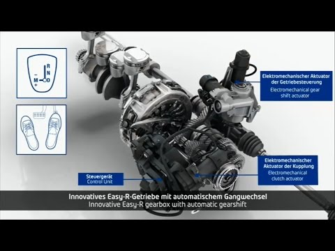 Фото к видео: Dacia Easy-R transmission