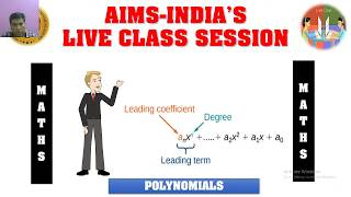 AIMS TODAY Live Stream – 3RD JUNE 2020 – 8TH CLASS – MATHS (4 PM TO 4:45 PM SESSION)