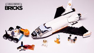 Lego City 60226 Mars Research Shuttle Speed Build
