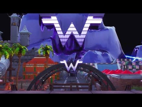 Weezer World on Fortnite (Team Cre8 Stream)