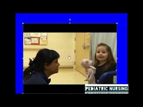 Physical examination of pediatric