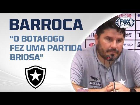 BARROCA FALA AO VIVO APÓS DERROTA DO BOTAFOGO POR 3 A 2 PARA O INTERNACIONAL!