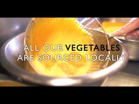 Fresh Fresh Fresh – All our vegetables are sourced locally