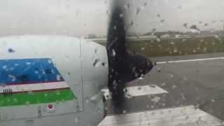 Uzbekistan Airways Il-114-100 - Flight from Tashkent Yuzhny (TAS) to Termez (TMJ), Uzbekistan