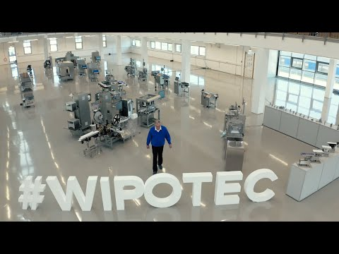 WIPOTEC CEO Theo Düppre invites you to our virtual innovation center