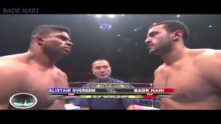 Badr Hari vs Alistair Overheem   the promise to knockout in the first round   K1