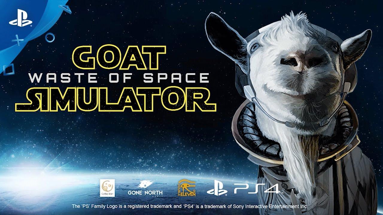 El DLC Goat Simulator: Waste of Space se lanza el 21 de marzo en PS4