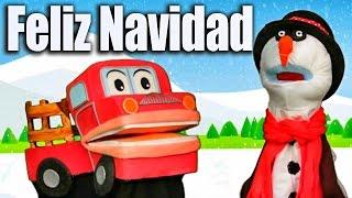 Feliz Navidad con Barney el camión - Canciones Educativas para Niños