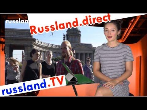 Russen-Meinung über den Westen [Video]