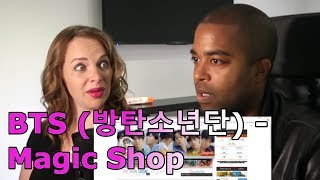 BTS (방탄소년단) - Magic Shop (Color Coded Lyrics Han/Rom/Eng) (REACTION 🎵