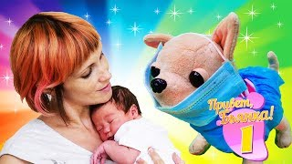 Как мама НОВОЕ ШОУ: ПРИВЕТ, БЬЯНКА! #ЧиЧилав навещает Машу #Капуки в роддоме. Видео для детей