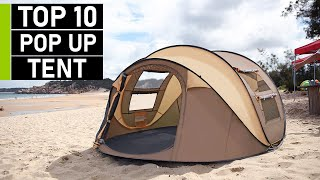 Top 10 Best Pop Up Tents for Camping