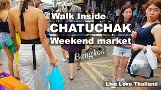 Inside Chatuchak Weekend Market Bangkok - What Can You Find & Buy Full Walk Review #livelovethailand