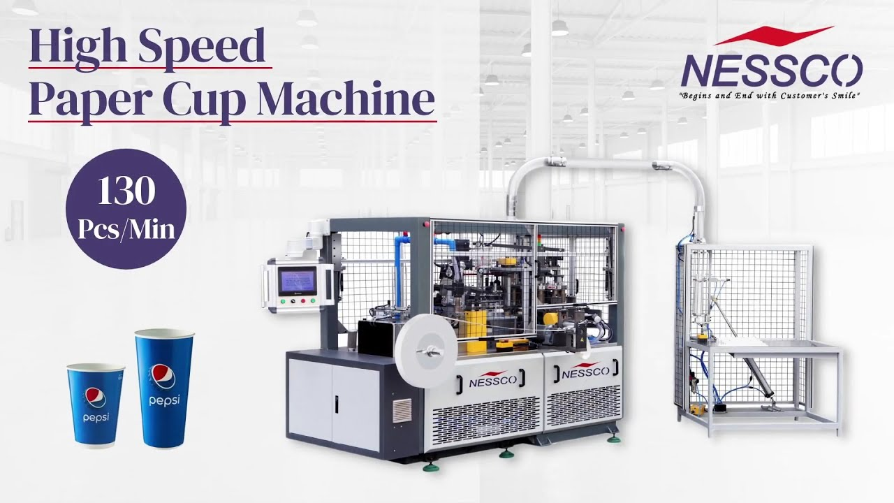 Start paper cup manufacturing business   Paper cup machines