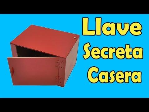 Cómo Hacer Caja Con llave Secreta (muy fácil de hacer)