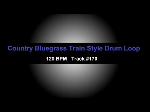 Free Drum Backing Tracks: country bluegrass drum loops