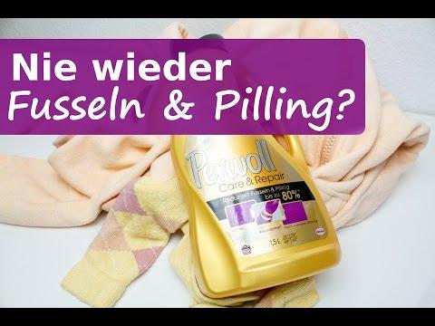 Perwoll Care & Repair Wäsche endlich Fussel & Peeling frei? Pilling aus Wäsche entfernen