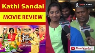 Kaththi Sandai Movie Review  Vishal  Tamannaah  2DAYCINEMACOM