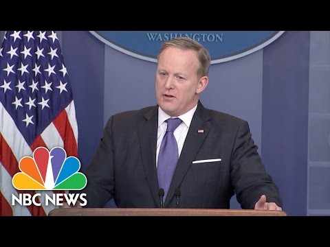 White House: President Trump Used 'Wiretap' To Mean 'Surveillance Overall' | NBC News