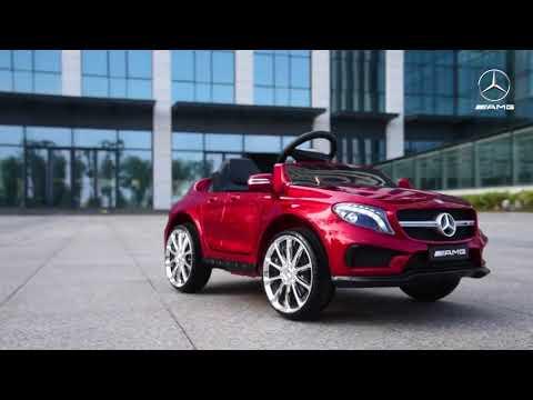 Coche eléctrico para niños 12v Mercedes Gla AMG