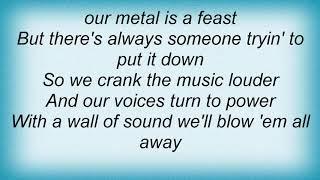 Judas Priest - Rock You All Around The World Lyrics