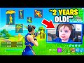 The *YOUNGEST* Fortnite Player! (2 YEARS OLD)