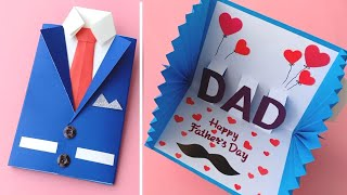 How To Make Fathers Day Card // Easy Way To Make Fathers Day Card // Cards Tutorial