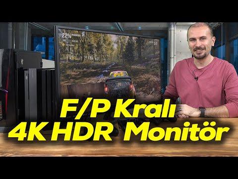 "32"" 4K HDR Viewsonic VX3211-4K-mhd monitör inceleme"