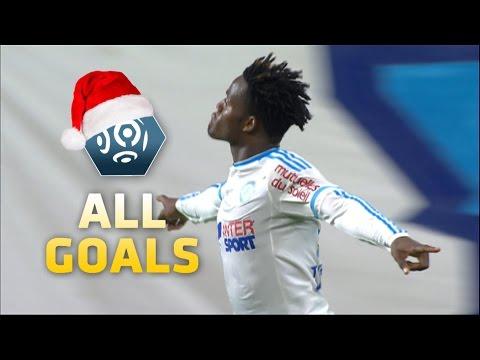 All goals of Michy Batshuayi week 1 - week 19 Ligue 1/ season 2015-16