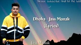 Jass Manak - Dhokha (Lyrics)   Sidhu moosewala - YouTube