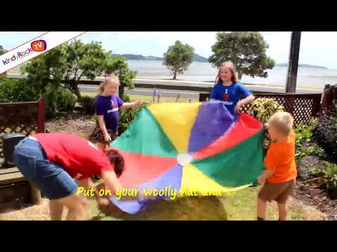 Parachute song for toddlers | Windy Day Song | From kindyRock - great songs for kids.