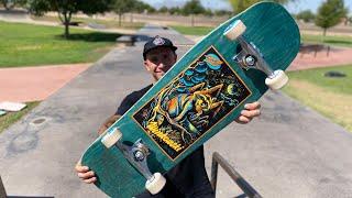 NEW WINKOWSKI 10in.SHAPE PRODUCT CHALLENGE! | Santa Cruz Skateboards