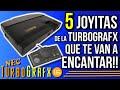 5 Juegazos De La Turbografx 16 pc Engine Consola De 16
