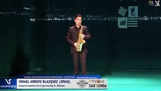 Ismael ARROYO BLAZQUEZ plays E. Bozza #adolphesax