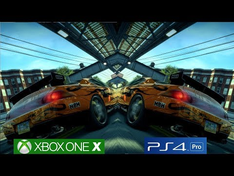 Download 4k Burnout Paradise Original Ps3 2008 Vs Xbox One X Video