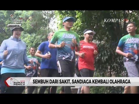 Sembuh dari Sakit, Sandiaga Uno Kembali Olahraga