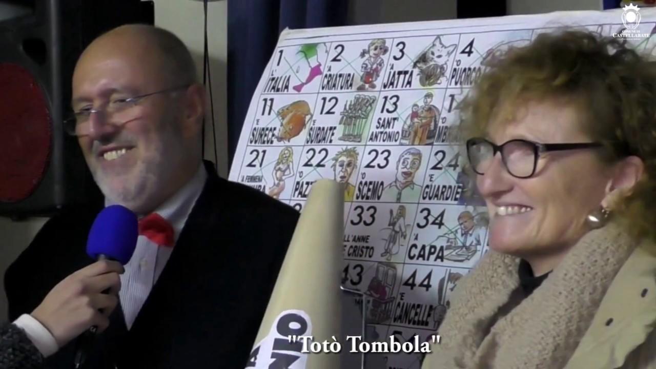 Castellabate una particolare tombola con le scene di tot for Toto arredamenti