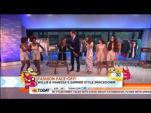 Fashion Face-Off with Vanessa Williams and Willie Geist on TODAY