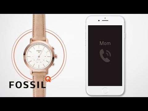 How To Set Up Your Fossil Q Hybrid Smartwatch