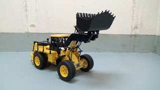 Lego Technic Front Loader Moc Hmongvideo