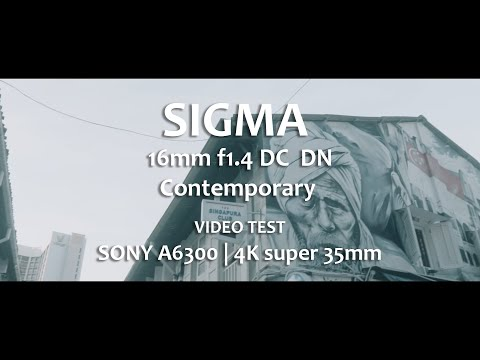 Download Sigma 16mm F 1 4 Dc Dn Contemporary Final Review 4k Video