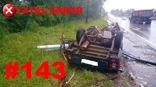 🚘🇷🇺[ONLY NEW] Russian Car Crash Compilation (12 August 2018) #143