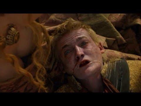 Joffrey Baratheon's Death Scene   Game of Thrones - King Joffrey Dies at the Purple Wedding.