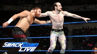 Sami Zayn & Tye Dillinger vs. Mike Kanellis & Aiden English: SmackDown LIVE, July 25, 2017
