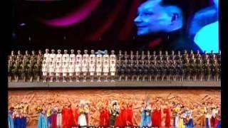 彭丽媛《英雄儿女》(八一军旗红·建军80周年文艺晚会)
